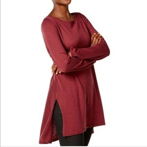 Eileen Fisher Split Side Tunic With High-Low Hem